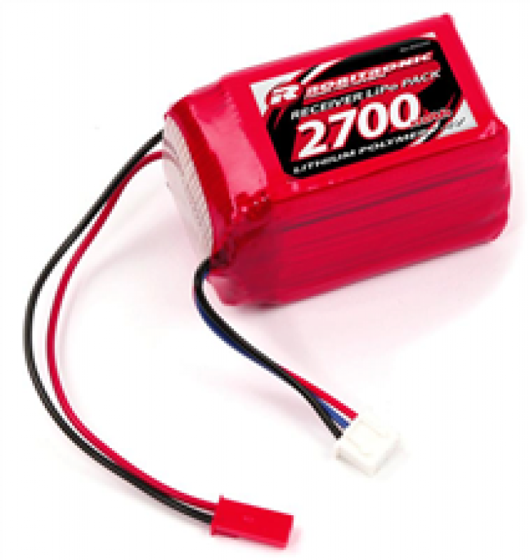 Robitronic LiPo 7,4V 2700mAh 2/3A Hump Size Empfängerpack (EH)