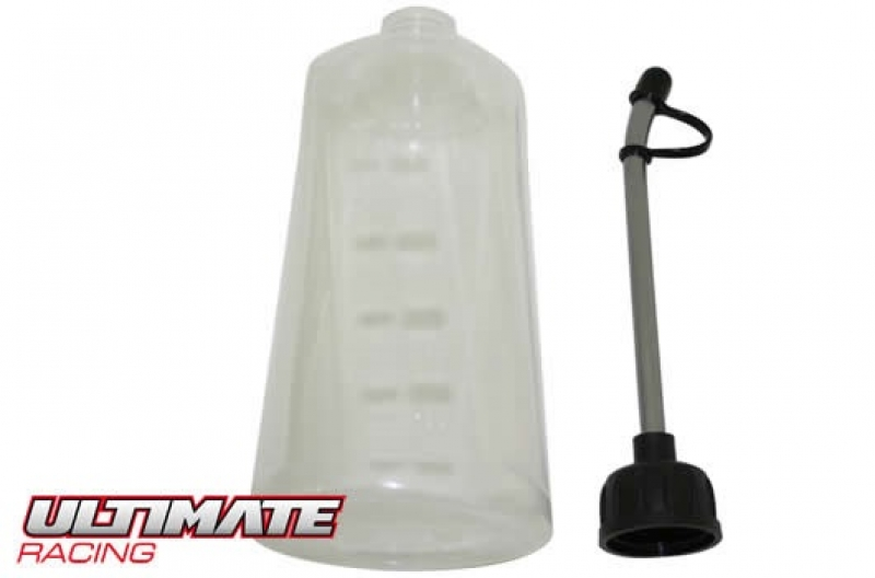 Ultimate Racing Tankflasche soft mit Alu Hals, 500ccm