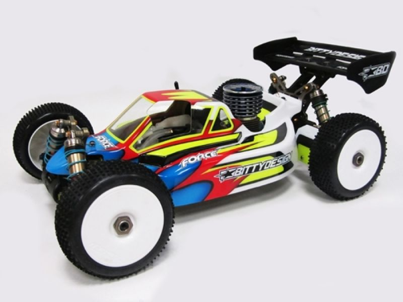 Bittydesign Force Kyosho MP9 TKI 2-3 # Karosse Buggy 1:8