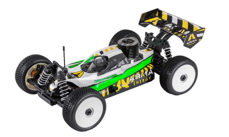 JQ-Products Buggy RTR-Set Nitro # Version ARMA-Energie