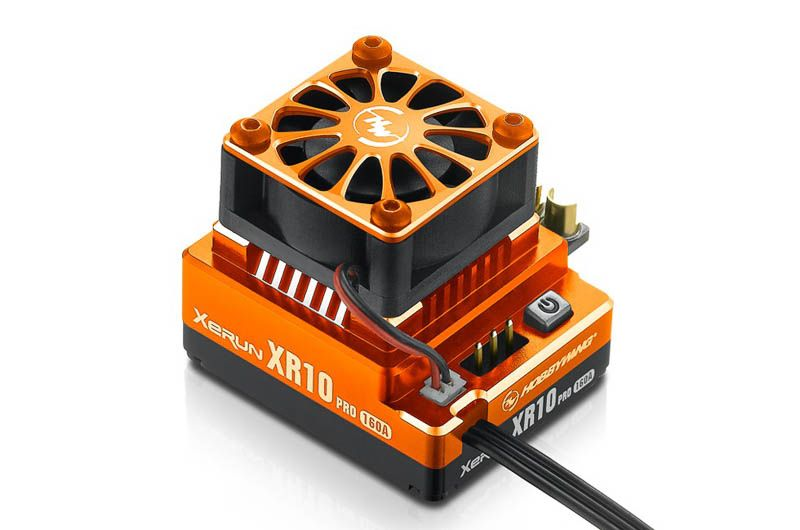 Xerun XR10 Pro Brushless Regler 160A, 2-3s LiPo # orange