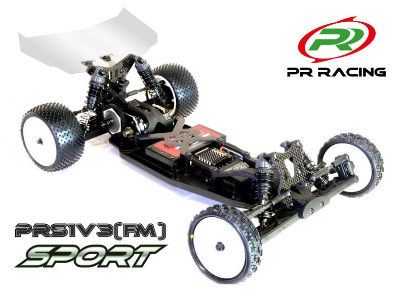PR Racing 2WD Offroad Buggy Front Motor 1/10 # Sport