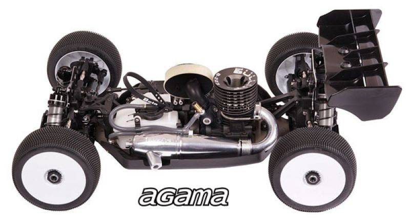 AGAMA A319 COMPETITION 1:8 BUGGY KIT