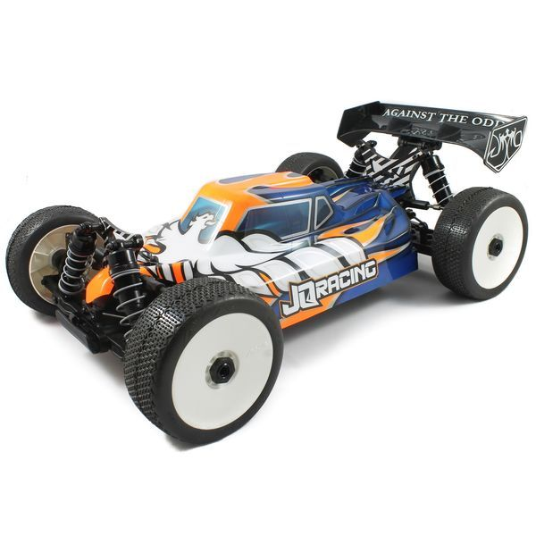 "JQE0777G THE e-Car Kit Buggy 1:8 - 4WD # Grey Edition ""neu 2017"""
