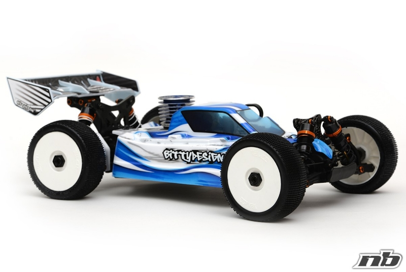 Bittydesign Force JQ The Car White Edition # Karosse Buggy 1:8