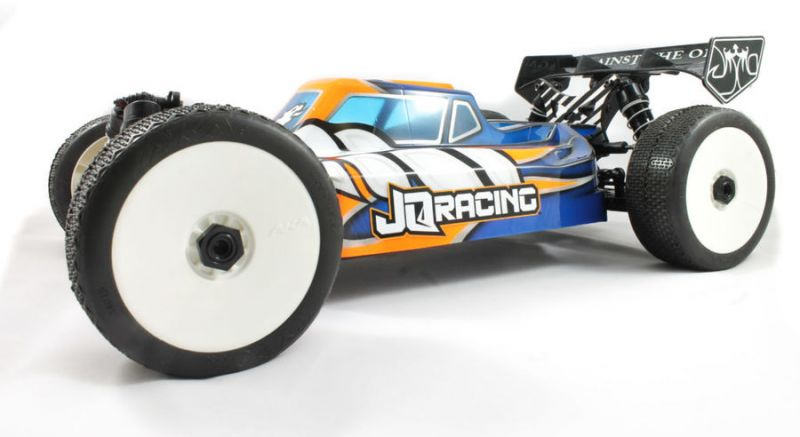 "THEeCar BLACK Edition Buggy 1:8 - 4WD von JQRacing ""NEU 2019"""