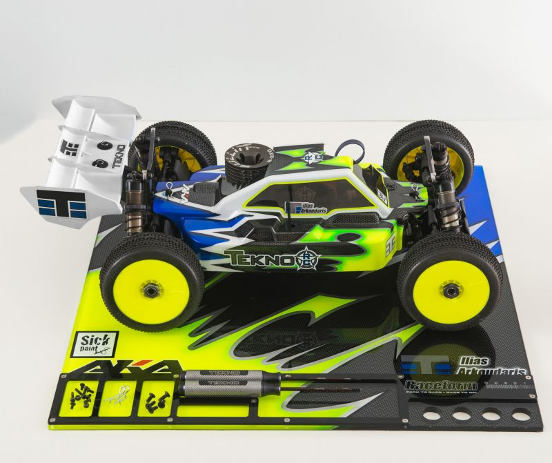 Raceform Setup-Board 1:8 On-Off-Road (6mm Plexiglas) # klar
