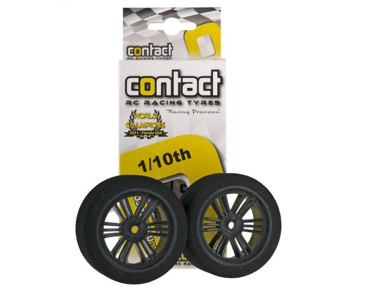 Contact Komplettrad vorn # Double Compound A soft - Carbon