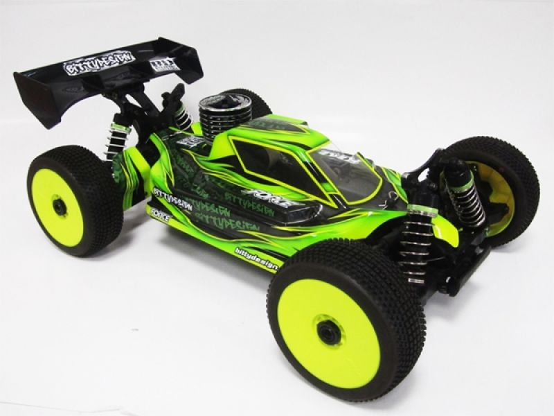 Bittydesign Force JQ The Car # Karosse Buggy 1:8